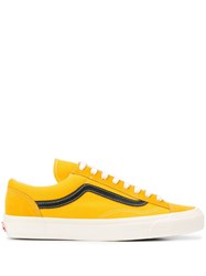 Vans Flat Lace Up Sneakers Yellow