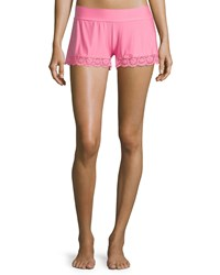 Commando Butter Lace Trimmed Lounge Shorts Women's