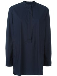 Odeeh Oversized Shirt Blue