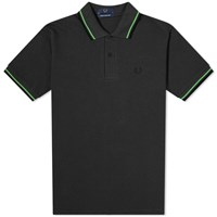 Fred Perry Original Twin Tipped Polo Black