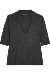 James Perse Cashmere Top Charcoal