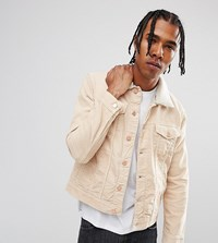 Brooklyn Supply Co. Co Stone Cord Borg Jacket Be1 Beige 1