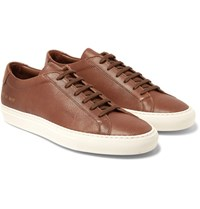 Common Projects Original Achilles Full Grain Leather Sneakers Brown