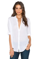 Sundry Oversized Button Up White