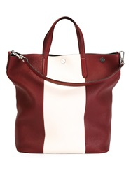 Bally 'Trooper' Tote Red