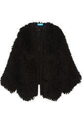 Mih Jeans M.I.H Jesper Oversized Boucle Knit Cardigan Black