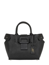 Roger Vivier Small Pilgrim De Jour Leather Bag