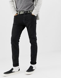 Weekday Friday Skinny Jeans Tuned Black