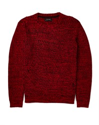 Religion Jumper With Fleck Red