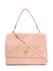 Coccinelle Large Classic Tote Bag Pink