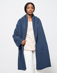 Lauren Manoogian Capote Coat In Denim