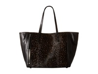 Rebecca Minkoff Sisley Tote Grey Leopard Tote Handbags Animal Print