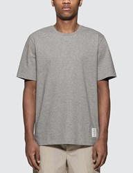 Thom Browne Relaxed Fit T Shirt Grey