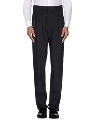 Versace Trousers Casual Trousers Men Steel Grey