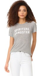 Spiritual Gangster Sg Tee Heather Grey