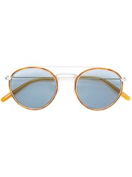 Oliver Peoples Ellice Sunglasses Brown