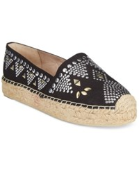 White Mountain Herring Espadrille Platform Flats Women's Shoes