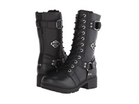 Harley Davidson Eda Black Women's Lace Up Boots