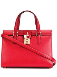 Dolce And Gabbana Tote Red