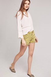 Anthropologie Relaxed Chino Shorts Green
