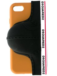 Dsquared2 Logo Brief Iphone 7 Case Black