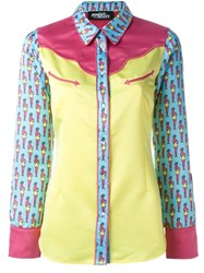 Jeremy Scott Pin Up Girl Print Shirt Multicolour