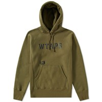 Wtaps Design 01 Hoody Green