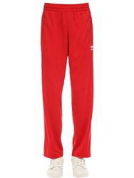 Adidas Adicolor Jersey Trousers Red