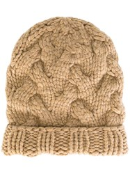 Antonia Zander 'Lotte' Beanie Nude And Neutrals