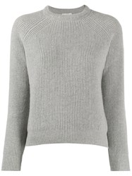 Forte Forte Crewneck Knitted Jumper Grey