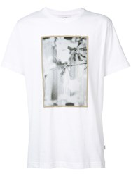 Wesc Max Vertical Beach T Shirt Men Cotton Xl White