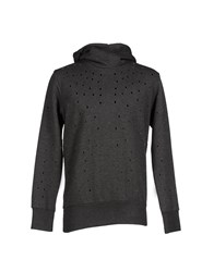 Malph Topwear Sweatshirts Men Steel Grey