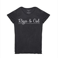Roger And Owl Script Black