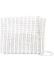 Paco Rabanne Iconic Tote Bag Women Leather One Size White