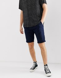 Tom Tailor Chino Shorts In Navy
