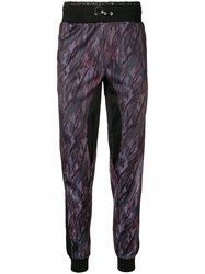 Plein Sport Camouflage Print Track Trousers Black