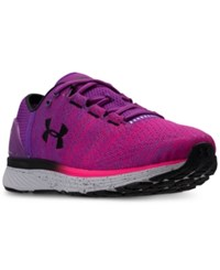 Under Armour Charged Bandit 3 Running Sneakers From Finish Line Purple Rave Penta Pink Bl