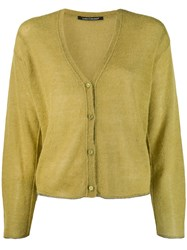 Luisa Cerano Loose Fit Cardigan Green