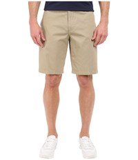 Dockers The Perfect Shorts Classic Flat Front Sand Dune Men's Shorts Khaki