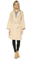 Vince Belted Trench Coat Marzipan
