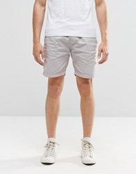 Brave Soul Washed Shorts Grey