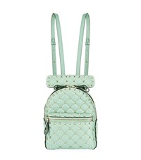 Valentino Garavani Mini Rockstud Spike Backpack Green