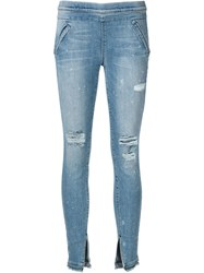 Rta 'Sonia' Jeggings Blue