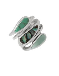 Robert Lee Morris Lets Turq About It Turquoise Ring Green