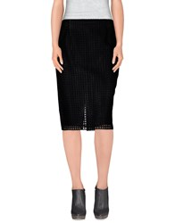 Marco De Vincenzo Skirts Knee Length Skirts Women Black
