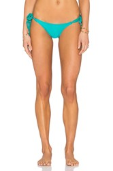 Vix Swimwear Side Tie Bikini Bottom Turquoise