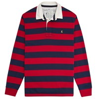 Joules Onside Rugby Top French Red Stripe