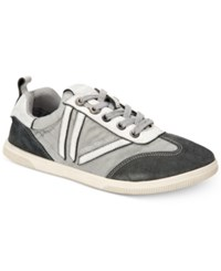 Calvin Klein Jeans Women's Sally Lace Up Sneakers Women's Shoes Grey