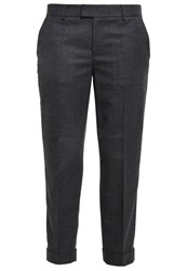 Club Monaco Betia Trousers Heather Charcoal Grey