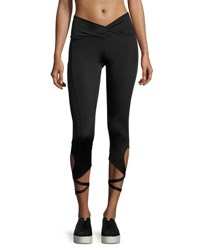 Onzie Ballerina Capri Performance Leggings Black